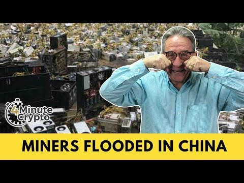 Floods in China Damage Crypto Mining | 4 Minute Crypto | 7/5/2018