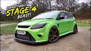 THIS STAGE 4 490BHP FORD FOCUS RS IS *SHOCKINGLY FAST*
