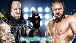 Undertaker vs Triple H Wrestlemania 28 Theme - The Memory Remains by Metallica