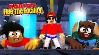 ROBLOX - FLEE THE FACILITY, EVIL ROPO CAPTURES THE LITTLE CLUB!!