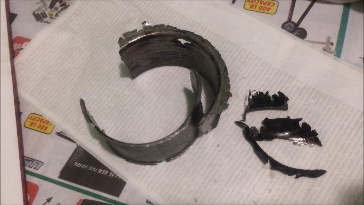 fixing spun rod bearing mitsubishi evo evolution 8 9 4g63/4g64 repair fix  MUST WATCH!