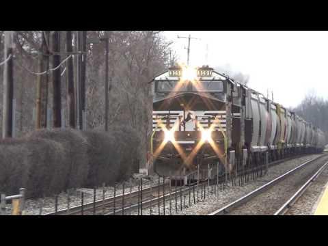 Railfanning Northbrook IL 3/26/17
