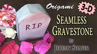 Origami Seamless Gravestone