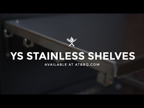 NEW: Yoder Smokers Stainless Shelves