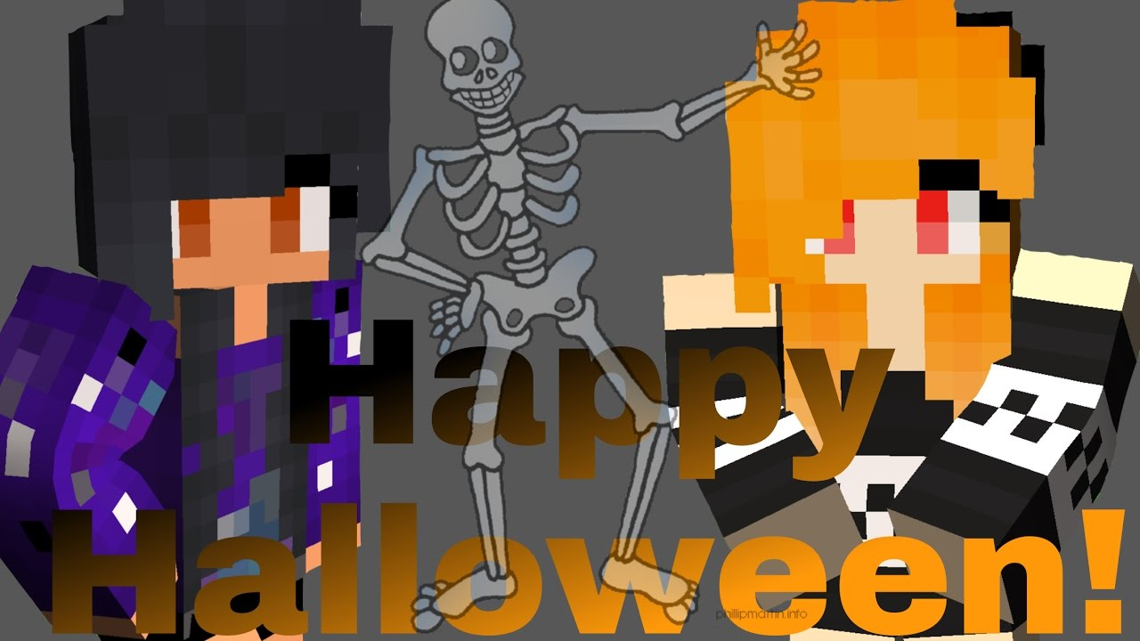 happy halloween on mystreet aphmau