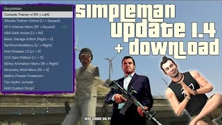 "🔴MOD MENU ""SIMPLEMAN 1.4 UPDATE"" DEX/CEX/BLES/BLUS + DOWNLOAD"