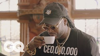 Download 2 Chainz Drinks $600 Coffee (Made from Cat Poop)   Most Expensivest Shit   GQ Mp3 and Videos