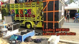 Loading BREWOG Karnaval Gedok Wetan