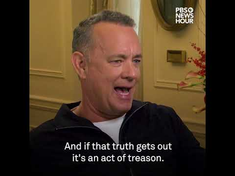 Tom Hanks on how the Pentagon Papers remain relevant today