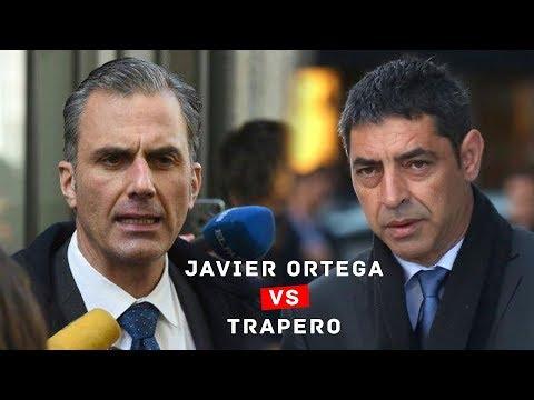 Javier Ortega Smith pregunta a Trapero en el juicio del Supremo