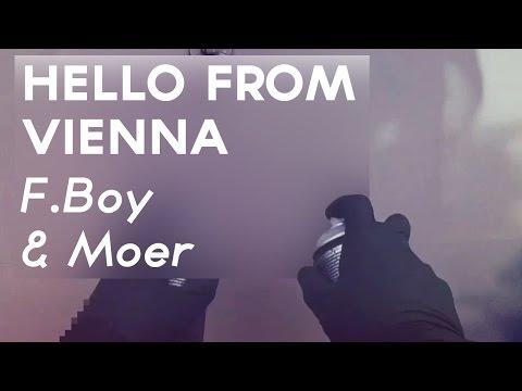 Graffiti Short | Hello from Vienna F Boy & Moer