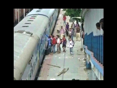 Students vandalise train, demand 'special train' in New Jalpaiguri