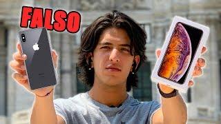 Compré un iPhone XS Max FALSO en México y sus accesorios