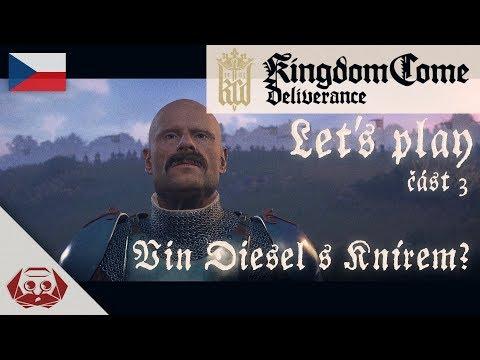 Kingdom Come: Deliverance | CZ Let's Play #3 | Vin Diesel s knírkem?