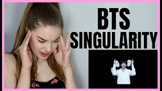 BTS (방탄소년단) LOVE YOURSELF 轉 Tear 'Singularity' Comeback Trailer REACTION | Lexie Marie