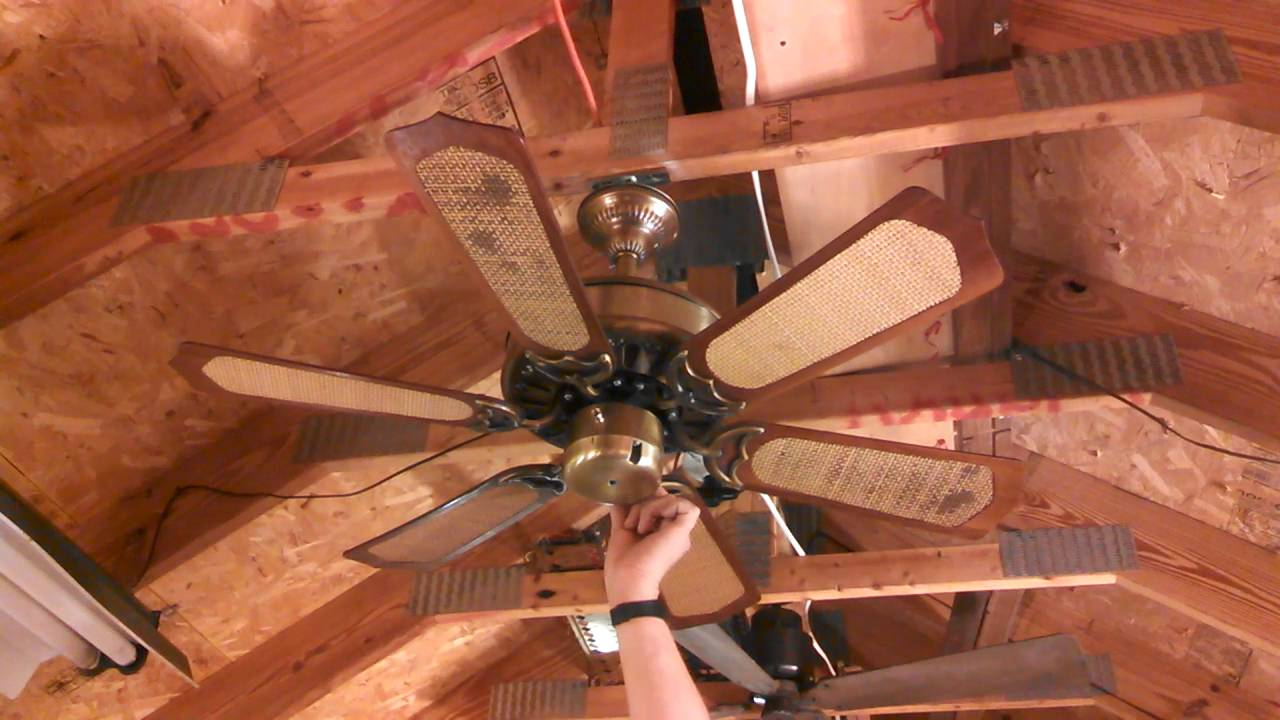 Homestead Whisperfan Iii Ceiling Fan Model Hp 30 With Cane
