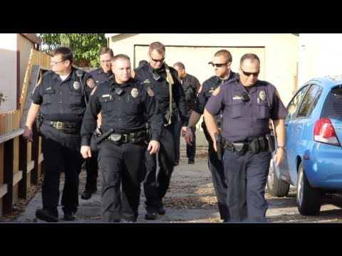 Parolee At Large Arrested After Fleeing Parole Agents - Modesto, California