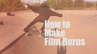 TUTORIAL: How to do Film Burns in Adobe Premiere Pro cs5