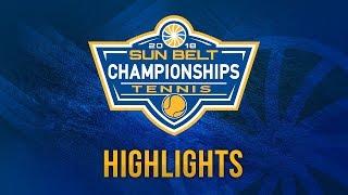 2018 Sun Belt Women's Tennis Championship: ULM 4, Arkansas State 1