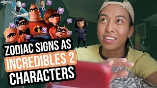 Which Incredibles 2 Character matches your Zodiac Sign?