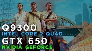 GTA 5 Grand Theft Auto 5 (2015) Gameplay GeForce GTX650 - Intel Core 2 Quad Q9300 - 4GB RAM