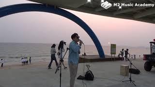 [취미] #1 대천해수욕장 버스킹 '정준일 - 첫 눈, 폴킴 - 너를 만나' / 엠투실용음악학원