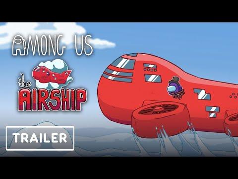 Among Us - Airship Map Reveal Trailer   Game Awards 2020