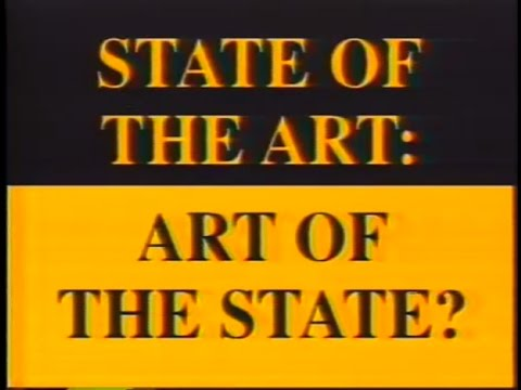 State of the Art: Art of the State