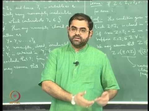 Mod-04 Lec-08 Topological Dimension, Krull Dimension and Heights of Prime Ideals