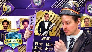 INSANE REWARD + PREMIER LEAGUE DRAFT! DRAFT TO GLORY #6! FIFA 18 ULTIMATE TEAM