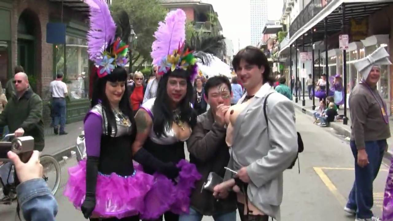 Mardi Gras Fat Tuesday French Quarter New Orleans 2009 Youtube