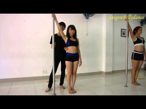Cơ bản về múa cột - Hướng dẫn bởi thầy Long, SaigonBellydance