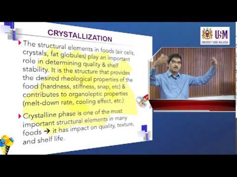 IMK209: LECTURE 9  (12th December 2012) — CRYSTALLIZATION (Part 1)