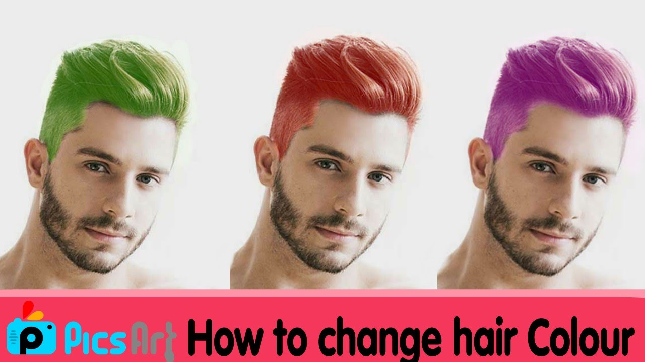 Picsart Editing Tutorial How To Change Hair Colour Best Picsart