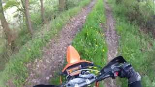 Water, Log and Trail Crossing - KTM 640 LC4 SM Thumbnail