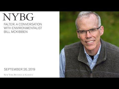 Falter: A Conversation With Environmentalist Bill McKibben
