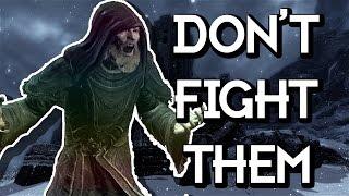 SKYRIM // DON'T FIGHT AGAINST A GREYBEARD!