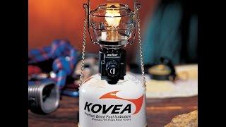 Обзор газового фонаря Kovea Adventure Gas Lantern TKL-N894
