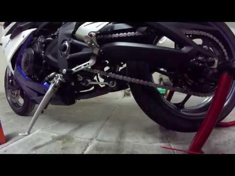 Castrol Chain Lube Racing and WD- - Triumph Daytona