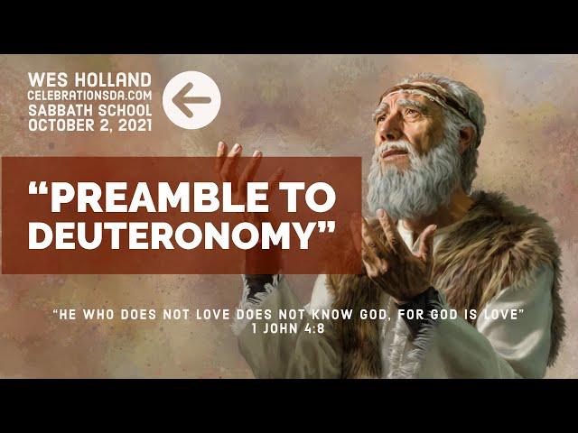 Preamble to Deuteronomy