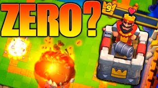 Clash Royale | TRY TO GET 0 HP!