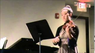 Elizabeth John, 14, Allegretto quasi Andantino by Grieg