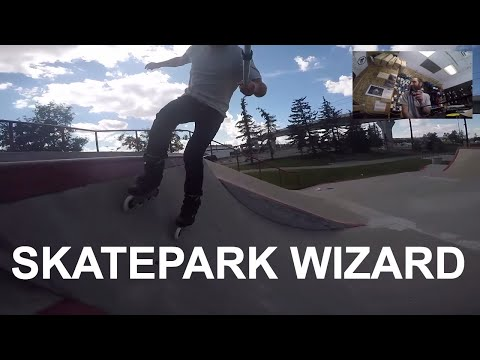 Freestyle Inline Skating; Skatepark and City Skating