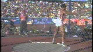 riedel discus throw world athletics champs 1995