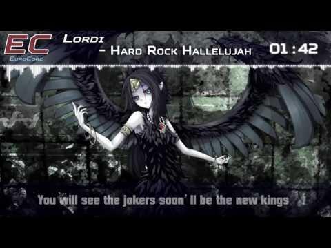 Nightcore - Hard Rock Hallelujah (Eurovision 2006 Finland)【Lyrics】「EuroCore」