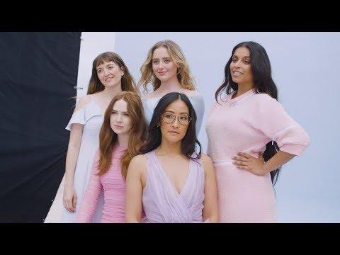 Women in Hollywood 2018: Karen Gillan, Lilly Singh, Kathryn Newton, Lisa Nishimura & Marielle Heller