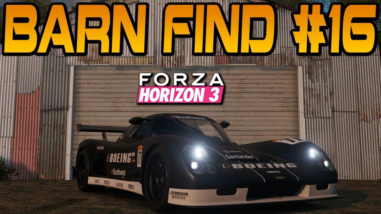 Forza Horizon 3 BARN FIND 16 Location Car Reveal