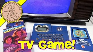 Wheel Of Fortune TV/VCR Play Along Game (Update Video)