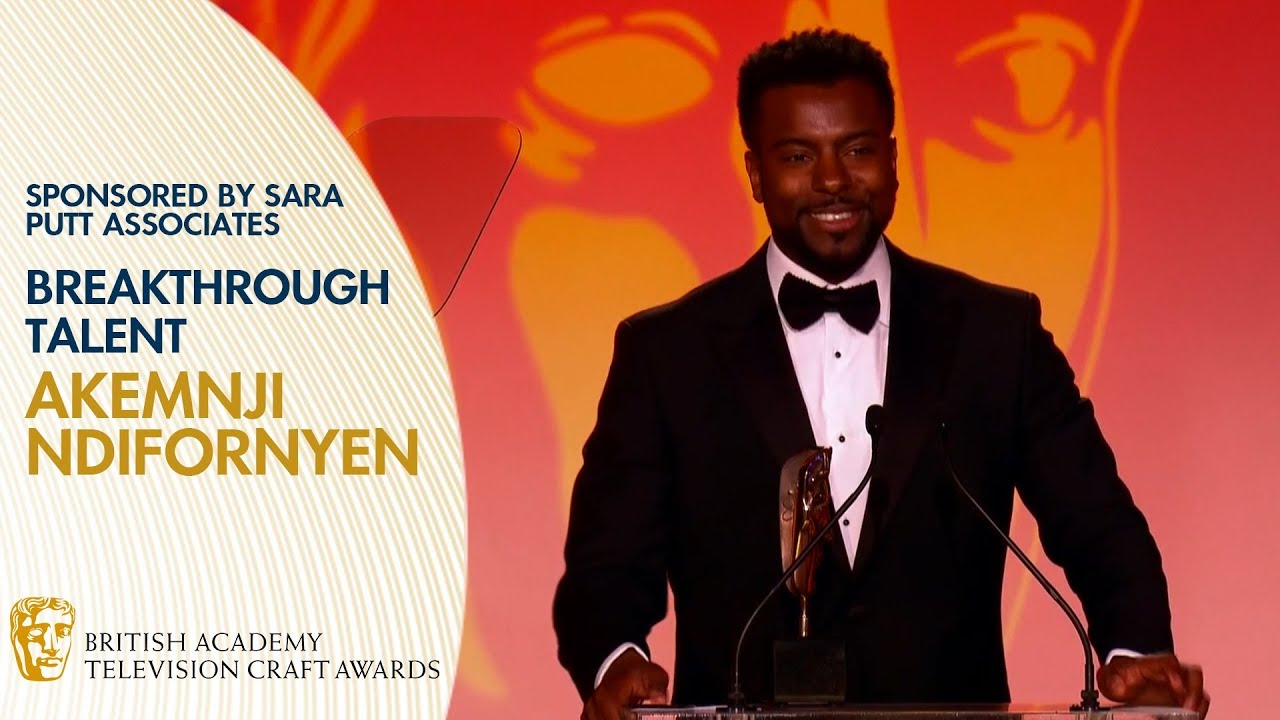 Download Akemnji Ndifornyen Wins Breakthrough Talent for Famalam   BAFTA TV Craft Awards 2019