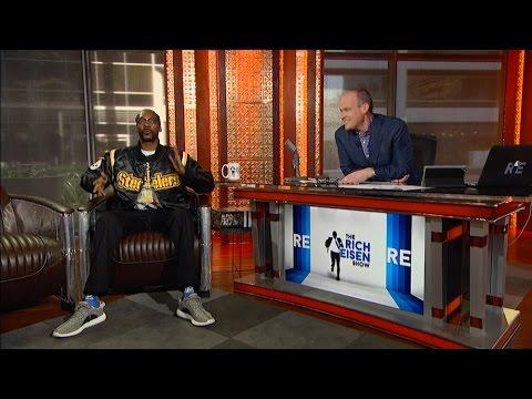 MultiPlatinum Recording Artist Snoop Dogg Talks Steelers, Richs 40Yard Dash & More  22416